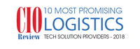 Top 10 Logistics Tech Solution Companies - 2018