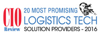 20 Most Promising Logistics Technology Solution Providers - 2016
